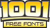 1001 Free Fonts